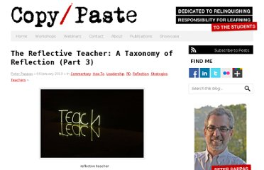 http://www.peterpappas.com/2010/01/reflective-teacher-taxonomy-reflection.html