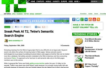 http://techcrunch.com/2009/09/18/sneak-peak-at-t2-twines-semantic-search-engine/