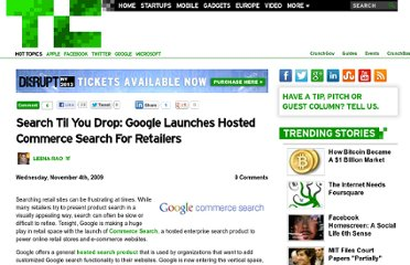 http://techcrunch.com/2009/11/04/search-til-you-drop-with-googles-new-commerce-search/