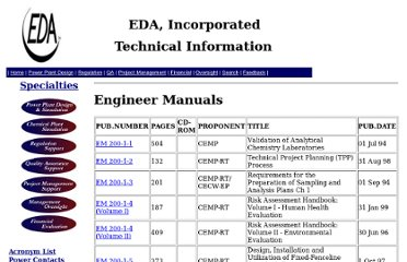 http://www.edasolutions.com/old/Groups/TechInfo/engineeringmanuals.htm