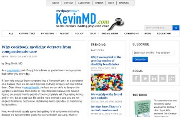 http://www.kevinmd.com/blog/2011/05/cookbook-medicine-detracts-compassionate-care.html
