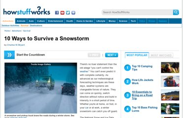 http://adventure.howstuffworks.com/10-ways-to-survive-a-snowstorm.htm