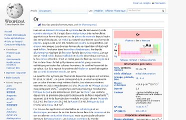 http://fr.wikipedia.org/wiki/Or#Production_dans_le_monde