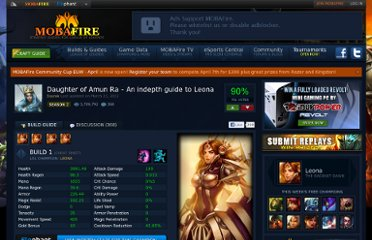 http://www.mobafire.com/league-of-legends/build/daughter-of-amun-ra-an-indepth-guide-to-leona-101449