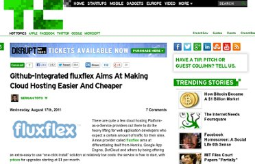 http://techcrunch.com/2011/08/17/github-integrated-fluxflex-aims-at-making-cloud-hosting-easier-and-cheaper/