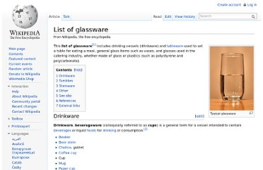 http://en.wikipedia.org/wiki/List_of_glassware#Drinkware