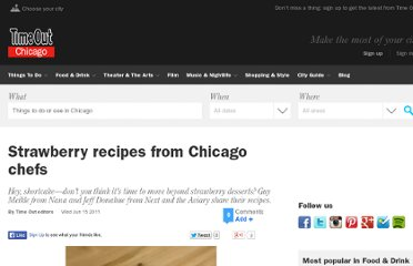 http://timeoutchicago.com/restaurants-bars/14806325/strawberry-recipes-from-chicago-chefs