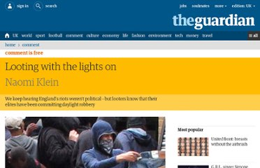 http://www.guardian.co.uk/commentisfree/2011/aug/17/looing-with-lights-off