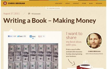 http://www.chrisbrogan.com/writing-a-book-making-money/