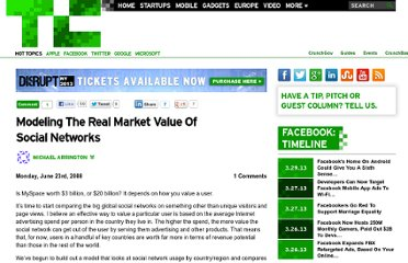 http://techcrunch.com/2008/06/23/modeling-the-real-market-value-of-social-networks/