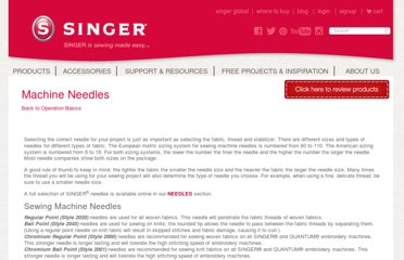 http://www.singerco.com/sewing-resources/machine-needles