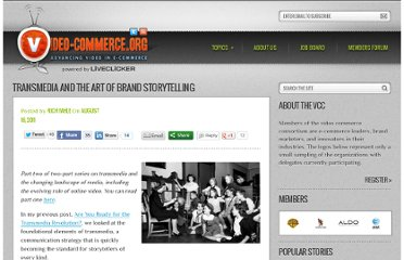 http://video-commerce.org/2011/08/transmedia-and-the-art-of-brand-storytelling/