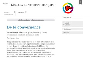 http://blog.frenchmozilla.fr/index/post/2011/08/17/De-la-gouvernance