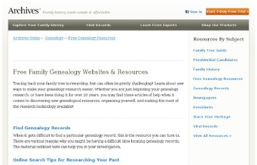 http://www.archives.com/genealogy/free.html