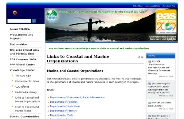 http://www.pemsea.org/knowledge-center/copy_of_links-to-coastal-and-marine-organizations