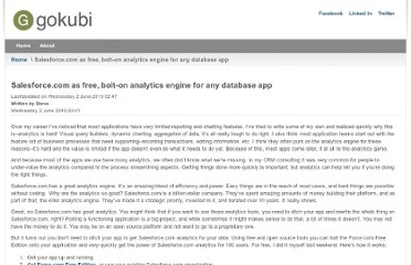 http://gokubi.com/archives/salesforce-com-as-free-bolt-on-analytics-engine-for-any-database-app