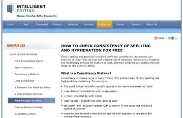 http://www.intelligentediting.com/spellinghyphenationconsistency.aspx