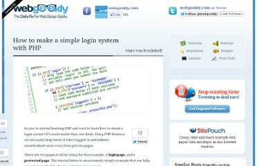 http://www.webgeekly.com/tutorials/php/how-to-make-a-login-system-with-php/