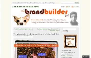 http://thebrandbuilder.wordpress.com/2011/08/17/the-5-basic-rules-of-calculating-the-value-of-a-facebook-fan/