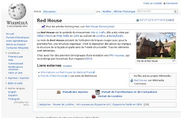 http://fr.wikipedia.org/wiki/Red_House