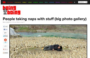 http://boingboing.net/2011/08/17/people-taking-naps-with-stuff-big-photo-gallery.html
