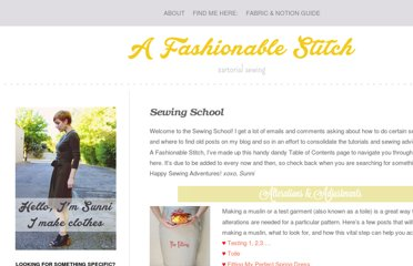 http://www.afashionablestitch.com/sewing-school/