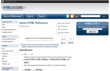 http://www.htmlgoodies.com/beyond/reference/article.php/3472851/Quick-HTML-Reference.htm