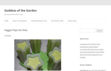 http://goddessofthegarden.com/2009/04/veggie-pops-for-kids/