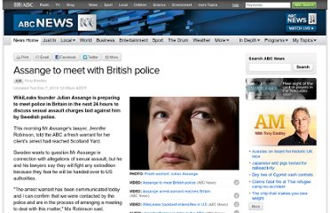 http://www.abc.net.au/news/2010-12-07/assange-to-meet-with-british-police/2365386