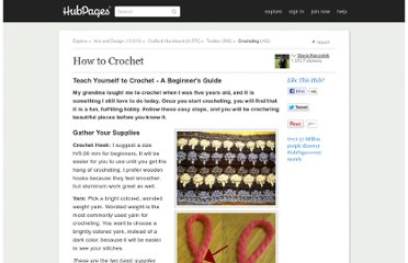 http://stacienaczelnik.hubpages.com/hub/How-to-Crochet