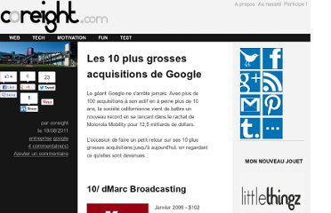 http://coreight.com/content/les-10-plus-grosses-acquisitions-de-google