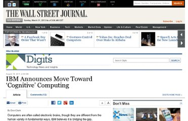 http://blogs.wsj.com/digits/2011/08/18/ibm-announces-move-toward-cognitive-computing/