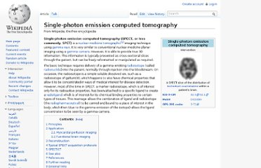 http://en.wikipedia.org/wiki/Single-photon_emission_computed_tomography