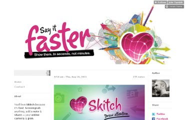 http://blog.skitch.com/post/9083996519/huge-skitch-is-acquired-by-evernote-a-great