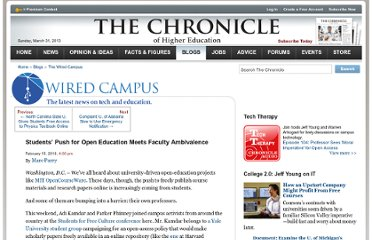 http://chronicle.com/blogs/wiredcampus/students-push-for-open-education-meets-faculty-ambivalence/21261