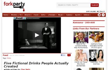 http://www.forkparty.com/4423/five-fictional-drinks-people-actually-created