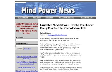http://www.mindpowernews.com/LaughterMeditation.htm