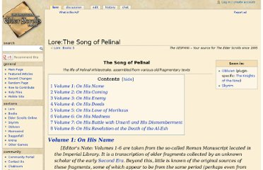 http://www.uesp.net/wiki/Lore:The_Song_of_Pelinal