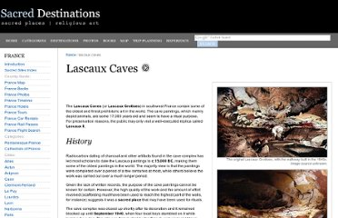 http://www.sacred-destinations.com/france/lascaux-caves