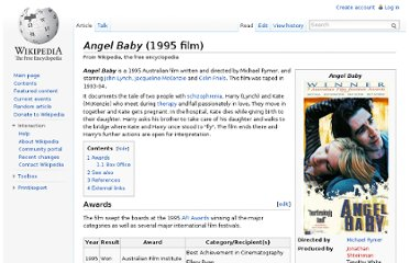 http://en.wikipedia.org/wiki/Angel_Baby_(1995_film)