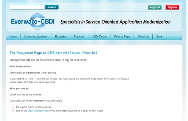 http://www.cbdiforum.com/report.php3?topic_id=4