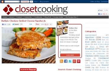 http://www.closetcooking.com/2011/08/buffalo-chicken-grilled-cheese-sandwich.html
