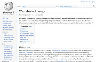 http://en.wikipedia.org/wiki/Wearable_technology