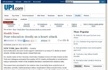 http://www.upi.com/Health_News/2011/06/18/Poor-education-deadly-as-a-heart-attack/UPI-89501308377487/
