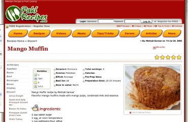 http://www.pakirecipes.com/recipe/Mango-Muffin