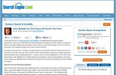 http://searchengineland.com/john-battelle-on-the-future-of-search-part-two-40094