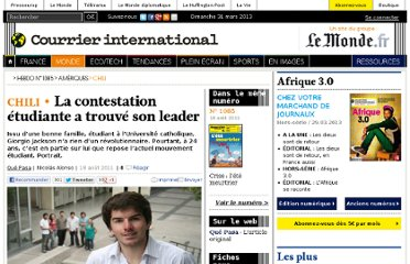 http://www.courrierinternational.com/article/2011/08/18/la-contestation-etudiante-a-trouve-son-leader