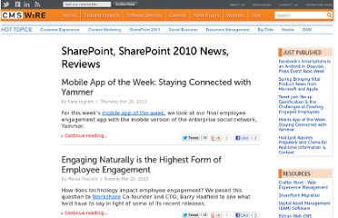 http://www.cmswire.com/news/topic/sharepoint