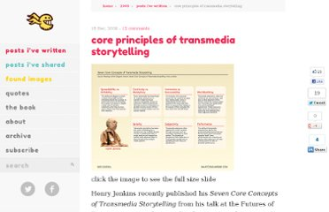 http://whatconsumesme.com/2009/posts-ive-written/core-principles-of-transmedia-storytelling/