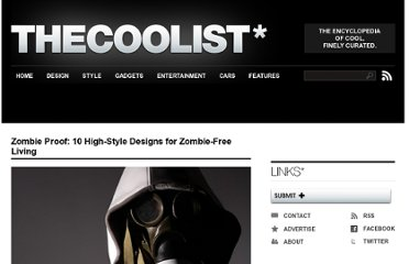 http://www.thecoolist.com/zombie-proof-10-high-style-designs-for-zombie-free-living/